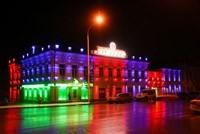 Наружное освещение: архитектурное освещение зданий и фасадов в г.Абакан
