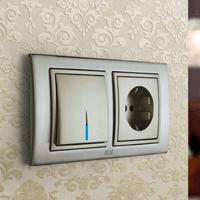 Установка выключателей в Абакане. Монтаж, ремонт, замена выключателей, розеток Абакан.